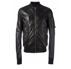 Raglan Bomber Jacket by Rick Owens in Power