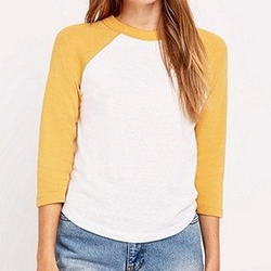 '70s Baseball Tee Shirt by Urban Outfitters in Riverdale
