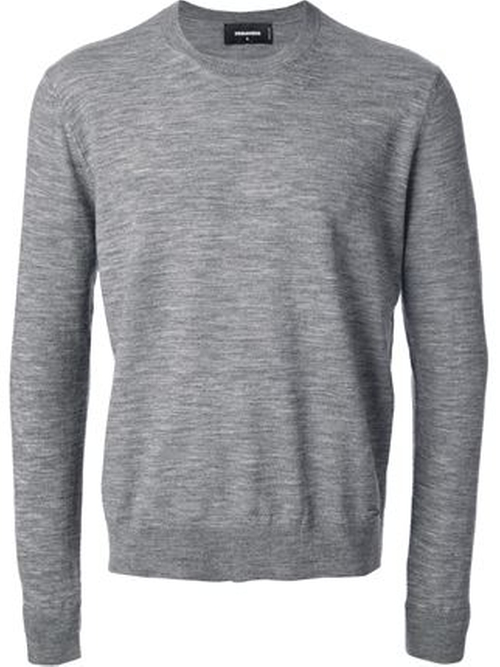 Crew Neck Sweater by Dsquared2 in Demolition