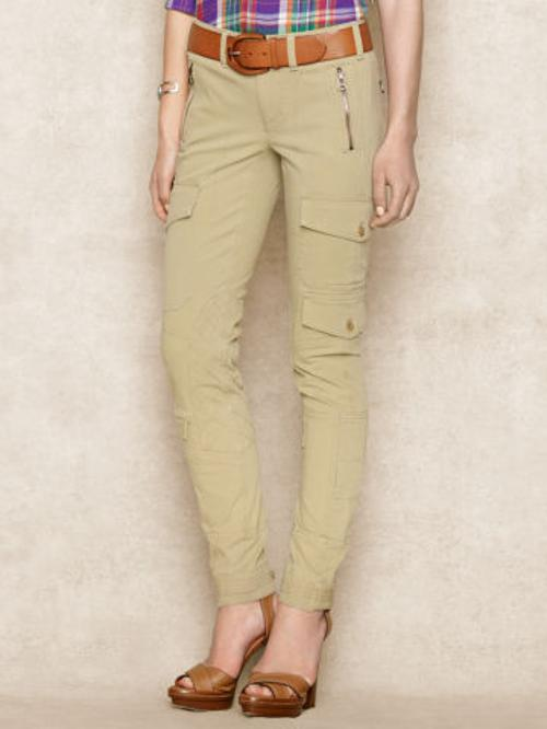 Twill Cargo Pant by Ralph Lauren in Step Up: All In