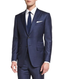 O'Connor Base Sharkskin Two-Piece Suit by Tom Ford in The Night Manager
