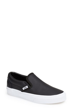 'Classic' Perforated Slip-On Sneaker by Vans in Pretty Little Liars