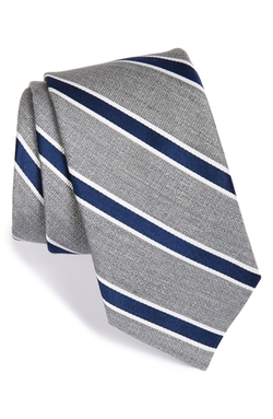 'Tussah Stripe' Silk Tie by Ted Baker London in Suits