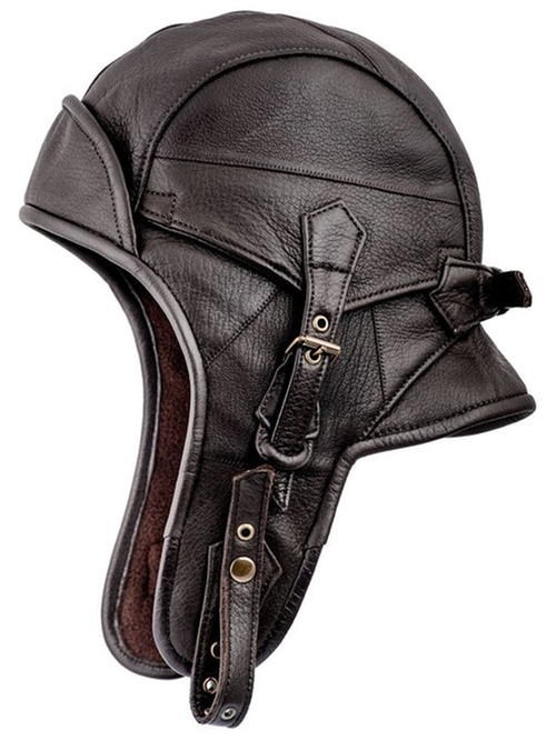 Leather Aviator Helmet by Sterkowski in Paper Towns