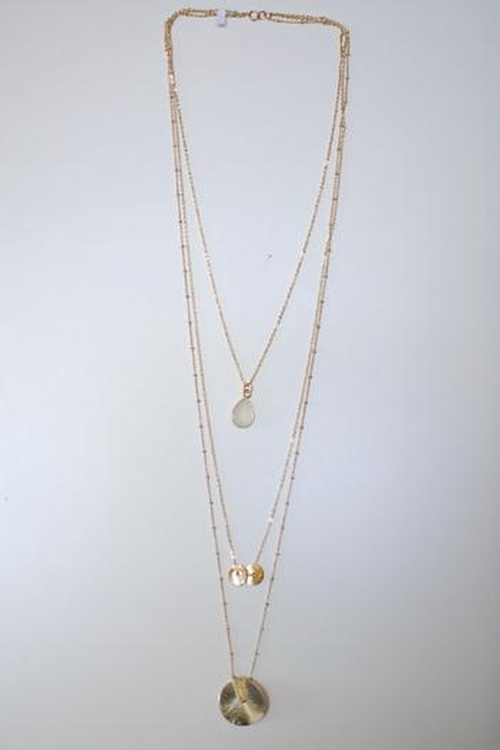 Three Layer Necklace by Sonya Renee in Pretty Little Liars - Season 6 Episode 5