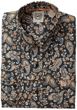 Button Down Paisley Shirt by Cinch in Rock The Kasbah