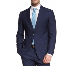 M-Line Solid Two-Piece Wool Suit by Armani Collezioni in Designated Survivor