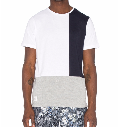 Colour Block Tee Shirt by Native Youth in Fast 8