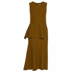 FS Dipira Wool Peplum Sheath Dress by Hugo Boss in Suits