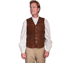 Lamb Suede Vest by Scully in The Living Daylights