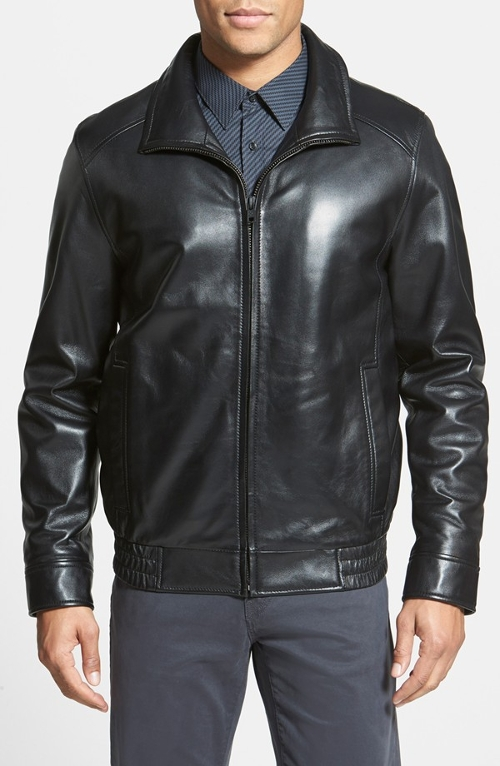 Leather Jacket by Vince Camuto in Fight Club