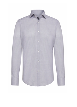 Gordon Finely Patterned Regular-Fit Shirt by Boss Hugo Boss in House of Cards