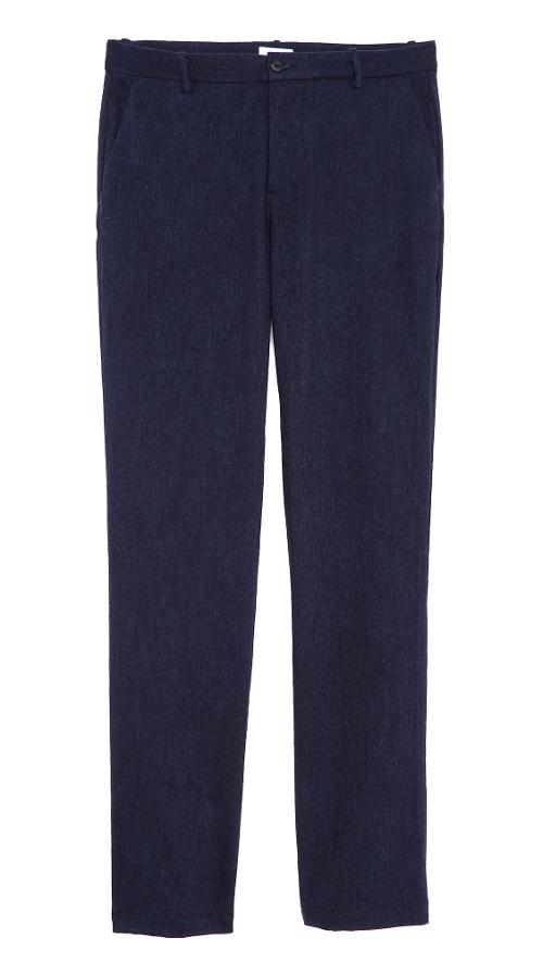 Indigo Wool Pants by Apolis in Get On Up