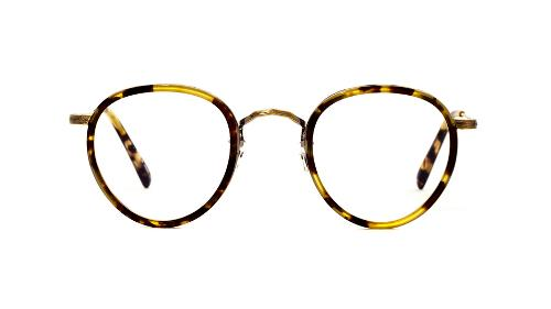 MP-2 RX in DTB / Antique Gold by Oliver Peoples in Transcendence
