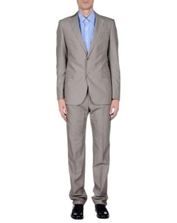Lapel Collar Suits by Armani Collezioni in Legend