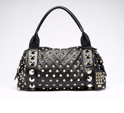 Studded Horizontal Satchel by Be & D  in Gossip Girl