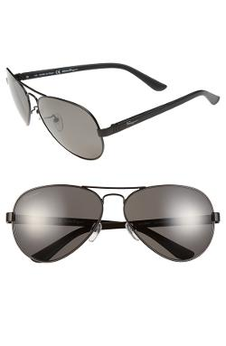 Aviator Sunglasses by Salvatore Ferragamo in Savages
