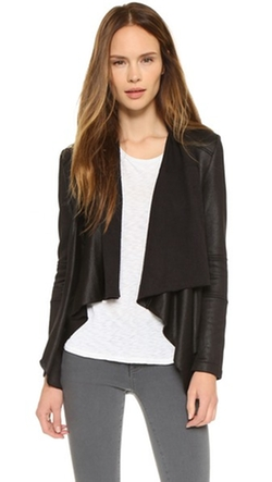 Gisele Front Draped Jacket by Generation Love in The Flash