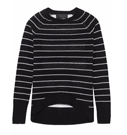 Gwen Striped Cashmere Sweater by Line in Imaginary Mary