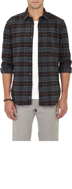 Plaid Flannel Shirt by Aspesi in Horrible Bosses 2