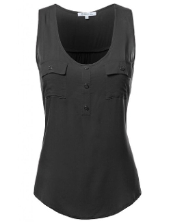 Sleeveless Rayon Blouse by Fifth Parallel Threads in Terminator: Genisys