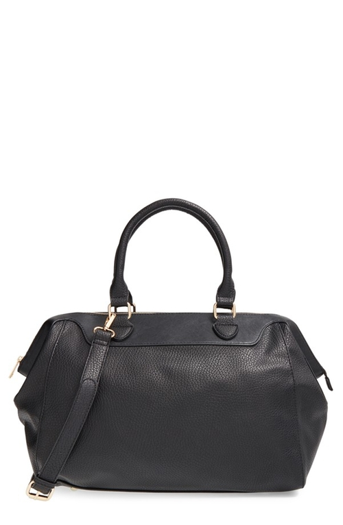 Faux Leather Duffel Bag by Sole Society in Jessica Jones