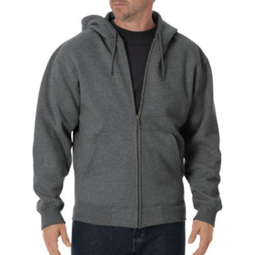 Fleece Full Zip Hoodie Jacket by Dickies in While We're Young
