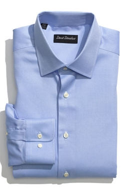 Regular Fit Oxford Dress Shirt by David Donahue in The Martian