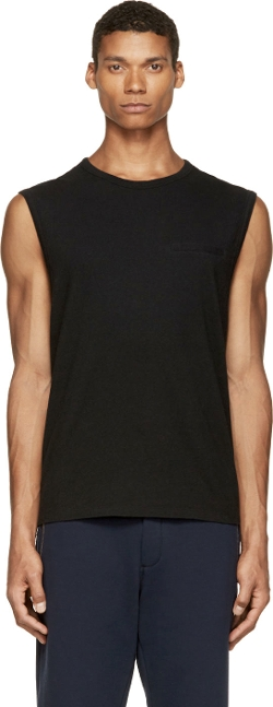 Cotton Muscle Tank Top by T By Alexander Wang in Fast Five