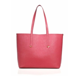 Zipper Accented Leather Tote Bag by Botkier New York in La La Land