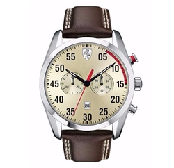 D50 Stainless Steel Chronograph Watch by Scuderia Ferrari in Going In Style