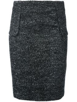 Tweed Pencil Skirt by Michael Kors in The Good Wife