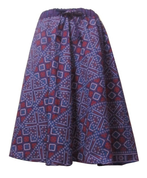Women's Traditional Print Skirt by Bonya Collections in While We're Young