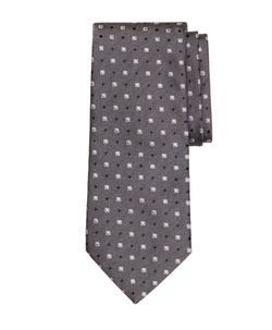 Framed Square and Dot Tie by Brooks Brothers in Billions