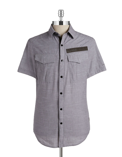 Military Sportshirt by G-Star Raw in Fast Five