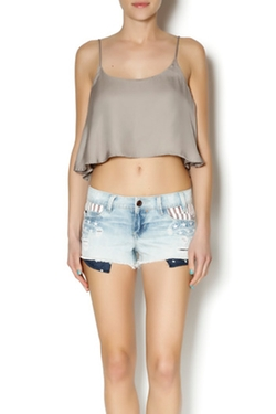 Crop Tank Top by Abby & Taylor in Spring Breakers