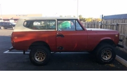 Harvester Scout SUV by International in Animal Kingdom
