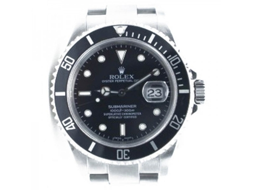 Submariner 16610 Watch by Rolex in Knight and Day