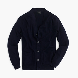 Slim Merino Wool Cardigan Sweater by J. Crew in The Big Bang Theory