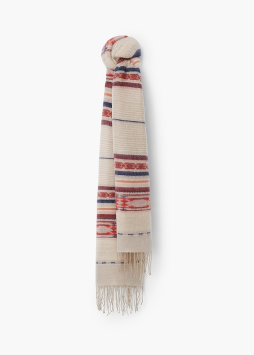 Striped Scarf by Mango in Maze Runner: The Scorch Trials