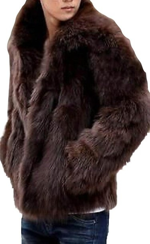 Faux Fur Fluffy Warm Winter Coat by Babyhclub in The Revenant