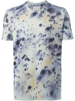 Tie Dye Print T-Shirt by Maison Margiela  in Empire