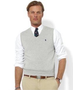 Core Solid Sweater Vest by Polo Ralph Lauren in (500) Days of Summer