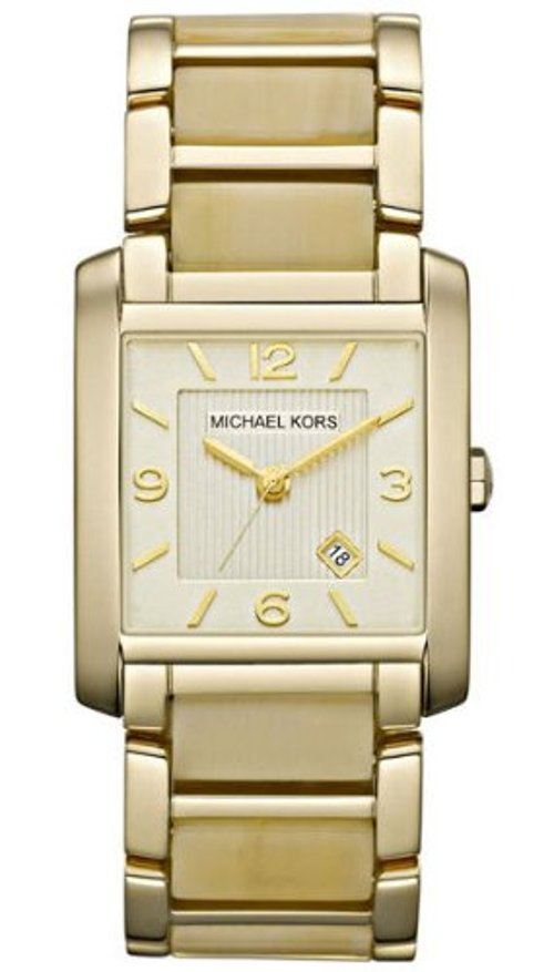 Two Tone Bliss Rectangle Watch by Ted Baker in Fifty Shades of Grey