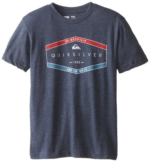 Big Boys' Two Cams Tee by Quiksilver in Max