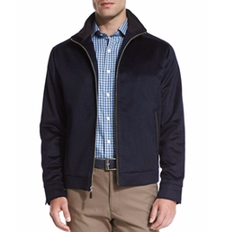 Westport Wool-Cashmere Jacket by Peter Millar in How To Get Away With Murder