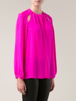 Cut Out Blouse by Tamara Mellon in The Good Wife