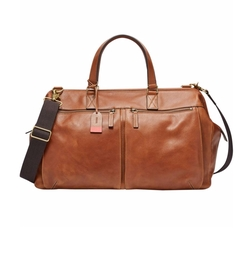 Defender Leather Duffel Bag by Fossil in Daddy's Home 2
