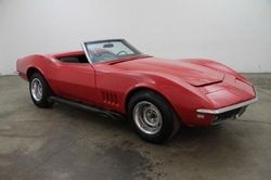1969 Corvette Convertible by Chevrolet in The Best of Me