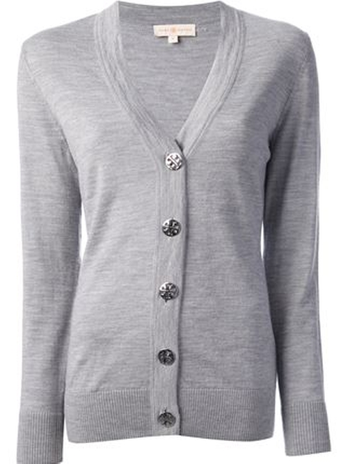 V-Neck Cardigan by Tory Burch in Sleeping with Other People